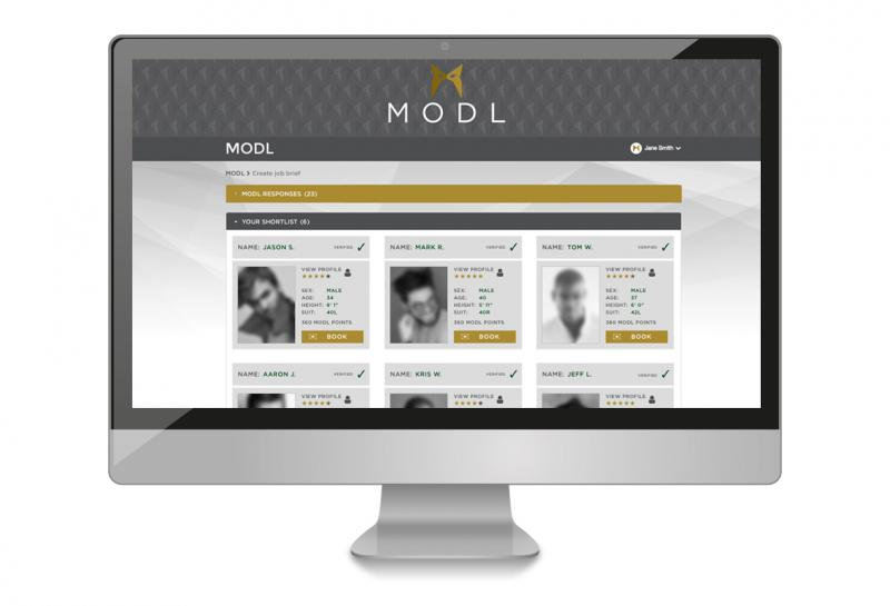 MODL App - the model booking app